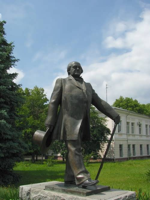Monument to actor Shchepkin
