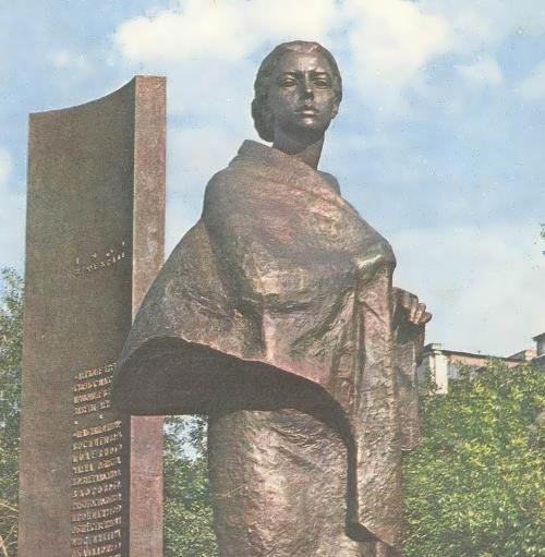 Monument to Krupskaya