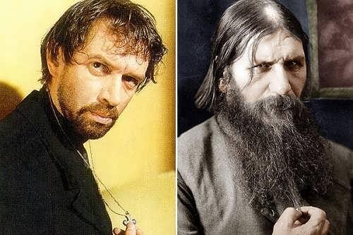 Vladimir Mashkov and Grigori Rasputin