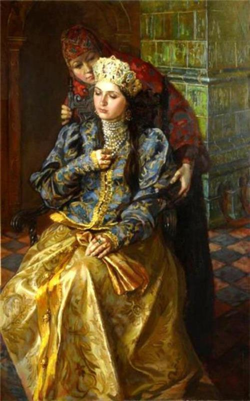 Ksenia Godunova by Joseph Vintsman