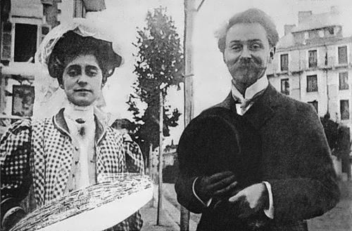 Alexander and Tatiana Schloezer, 1909