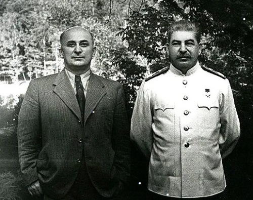 Beria and Stalin
