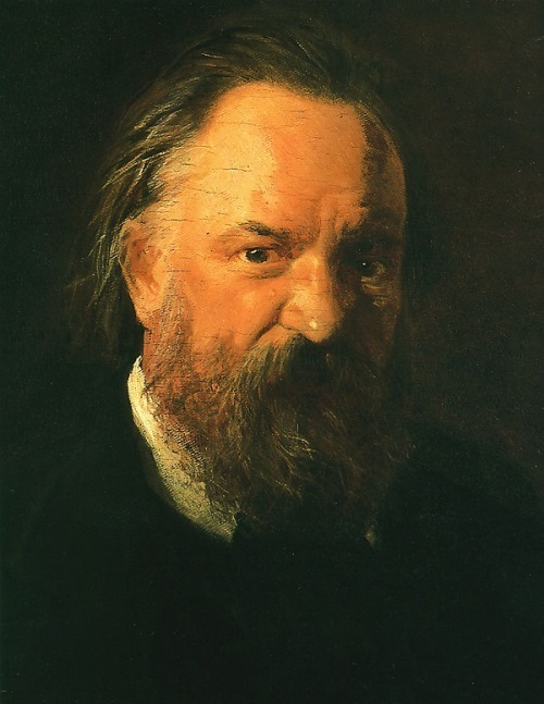N. N. Ghe. Portrait of writer Alexander Herzen