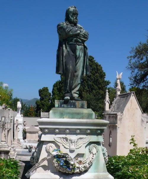 Grave of A. I. Herzen