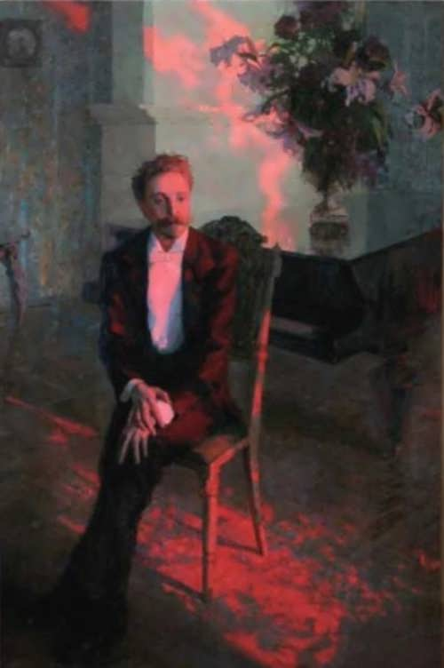 Portrait of A. Scriabin