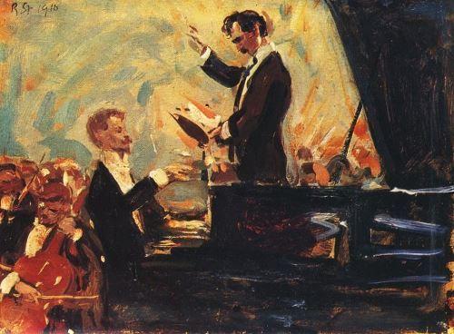 Robert Sterl – Klavierkonzert (Kussewizki und Skrjabin), 1910