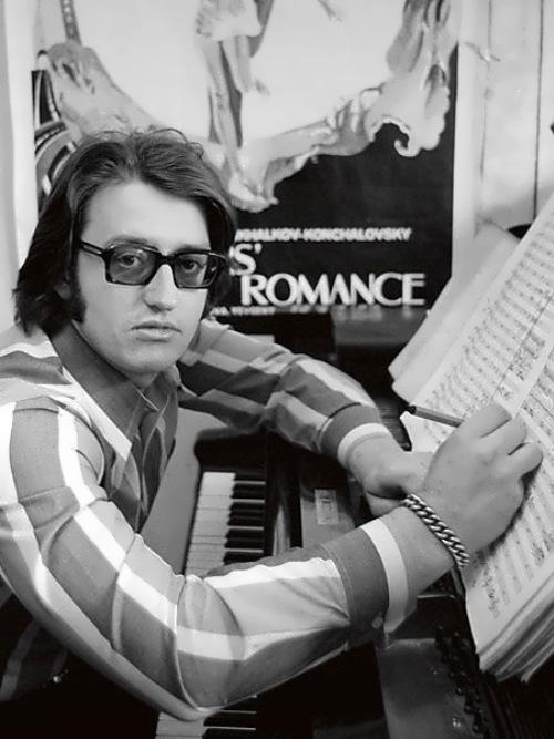 Gradsky - poet and composer