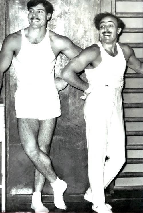 Albert Azaryan and Hrant Shahinian