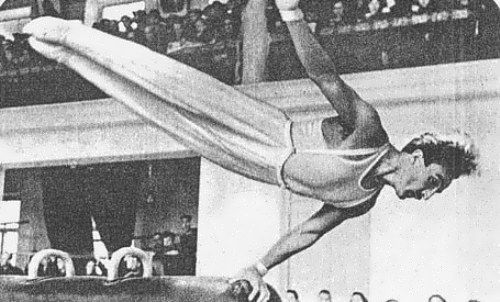 Shahinian won two gold medals at the first Olympics for the USSR
