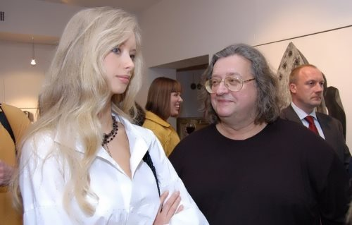 Alexander and his fourth wife Marina Kotashenko