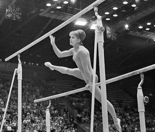 Latynina - winner of 18 Olympic medals