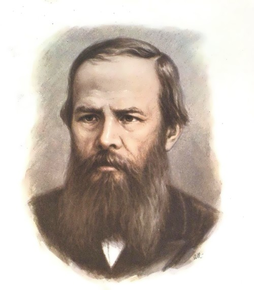 Fyodor Dostoyevsky - great Russian writer
