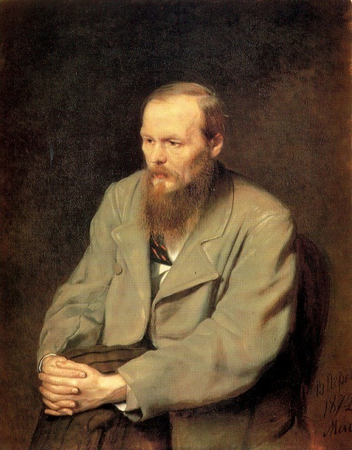 Vasily Perov Portrait of Dostoevsky