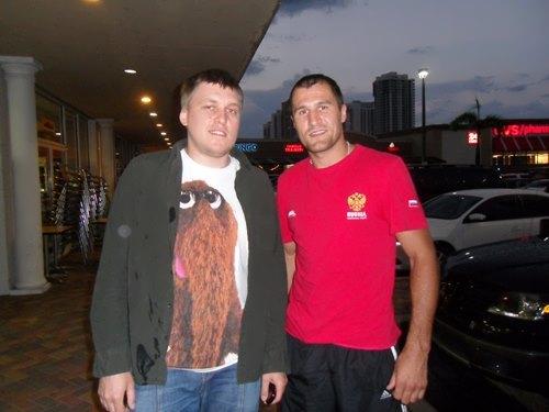 Sergey Kovalev and Sergey Nezlobin