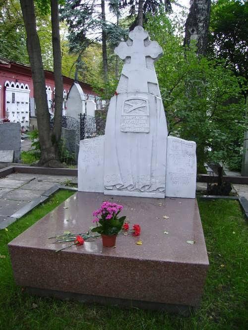 Grave of Stanislavsky