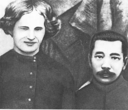 Yeroshenko and Chinese writer Lu Xun, Beijing, 1922