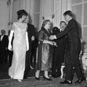 Jacqueline Kennedy, Nina Khrushcheva and John Kennedy, 1961