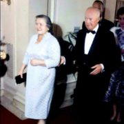 Nina Petrovna with Eisenhower