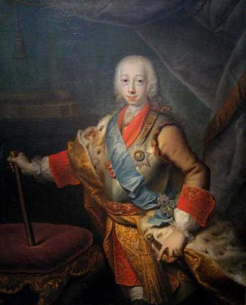 Peter III Fedorovich (Karl Peter Ulrich) The State Tretyakov Gallery, Georg Christopher Grotto