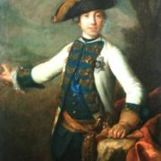 Portrait of Grand Duke Peter Fedorovich. Early 1760s