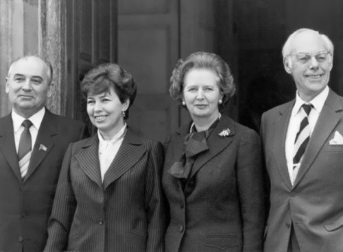 Visit of the Gorbachevs to the United Kingdom, 1989