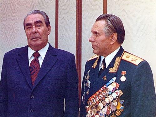 Brezhnev and Shchelokov