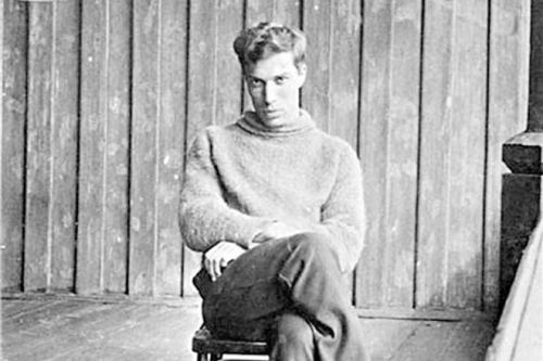Boris Pasternak in his youth