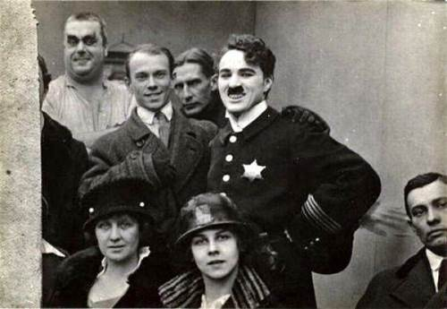 Charlie Chaplin and Vaslav Nijinsky, 1916