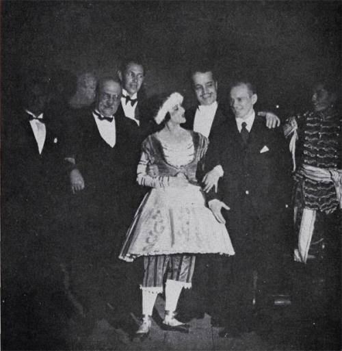 Krasavina, Diaghilev, Nizhinsky