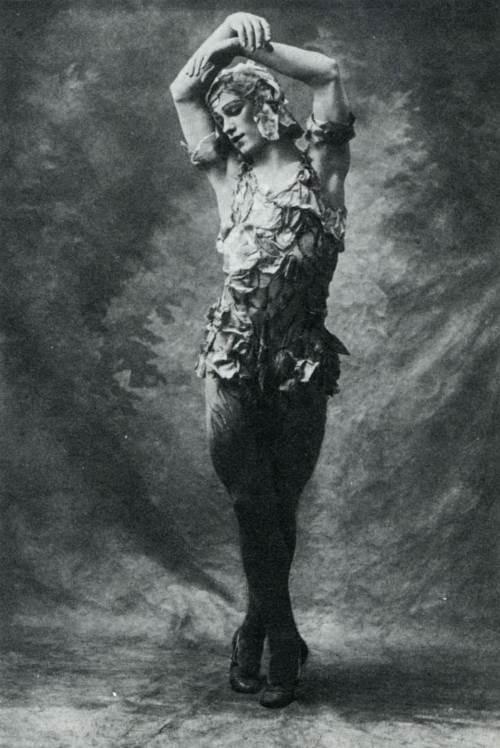 Le spectre de la rose, 1911, Royal Opera House
