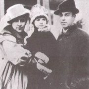 Nijinsky, Romola and their daughter Kira