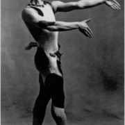 Nijinsky as Faun in 1912, Paris