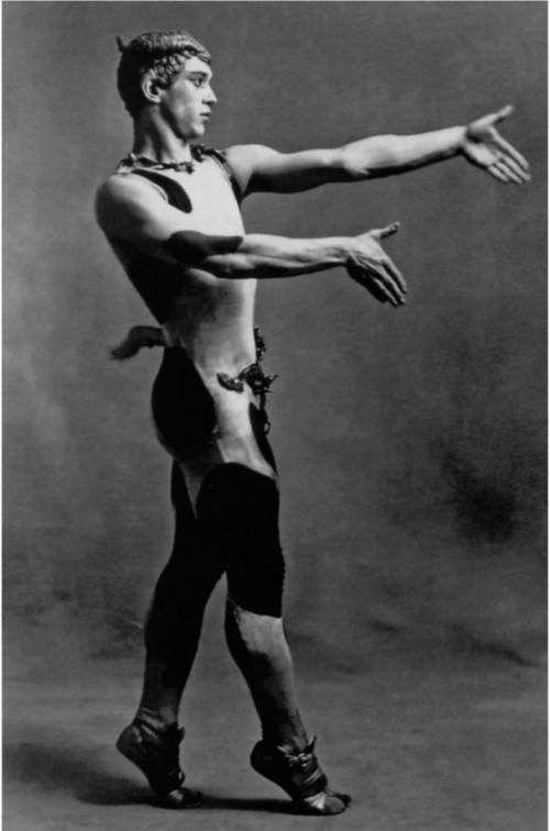 Nijinsky as Faun in 1912, Paris