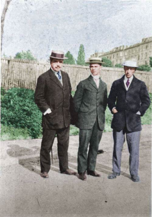 Sergei Diaghilev, Vaslav Nijinsky and Igor Stravinsky, 1911