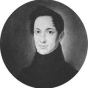 A.I. Herzen. From the portrait of A. Zbruev. 1830s