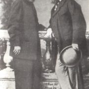 N.P. Ogarev and A.I. Herzen, 1861