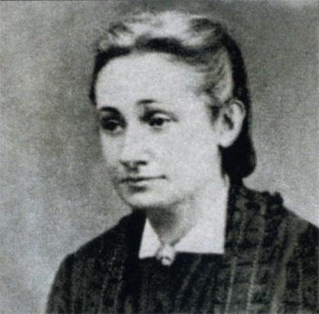 Natalia Alekseevna Tuchkova - the second wife of Ogarev, who left him for Herzen