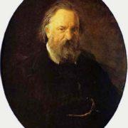 Portrait of Alexander Ivanovich Herzen. Nikolay Ge, 1867