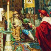 Prince Alexander Nevsky and papal legates