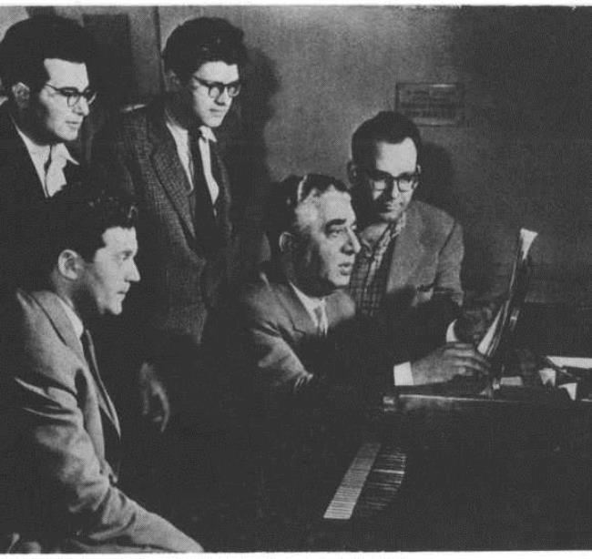 A. Khachaturian among the students