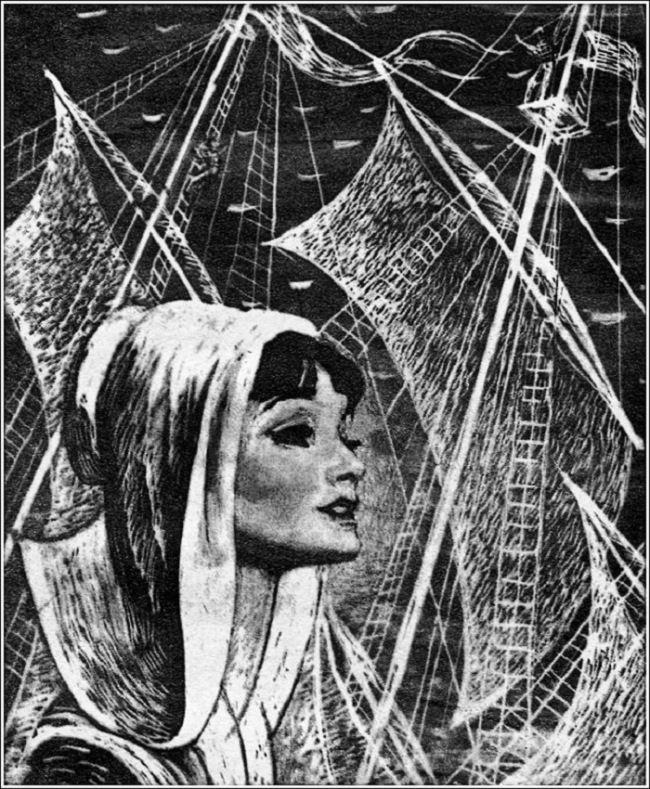 Assol. Illustration by Savva Brodsky