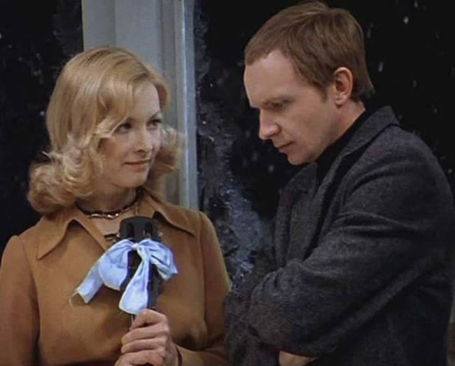 Barbara Brylska in the film Irony of Fate
