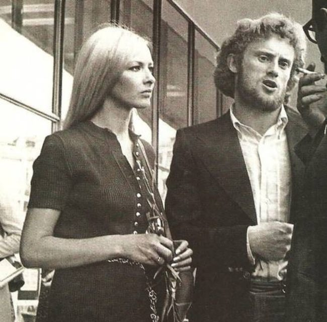 Daniel Olbrychsky and Barbara Brylska