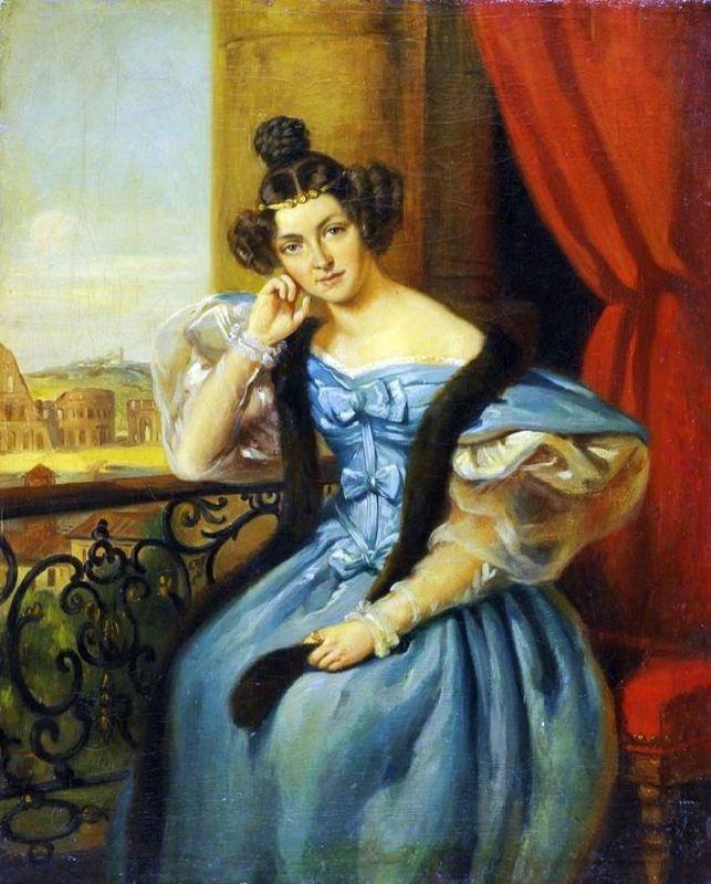 Ekaterina Nikolayevna Karamzina, the daughter of Nikolai Mikhailovich Karamzin