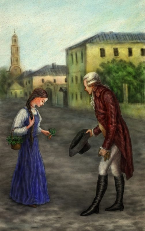 Illustration for the story Poor Lisa