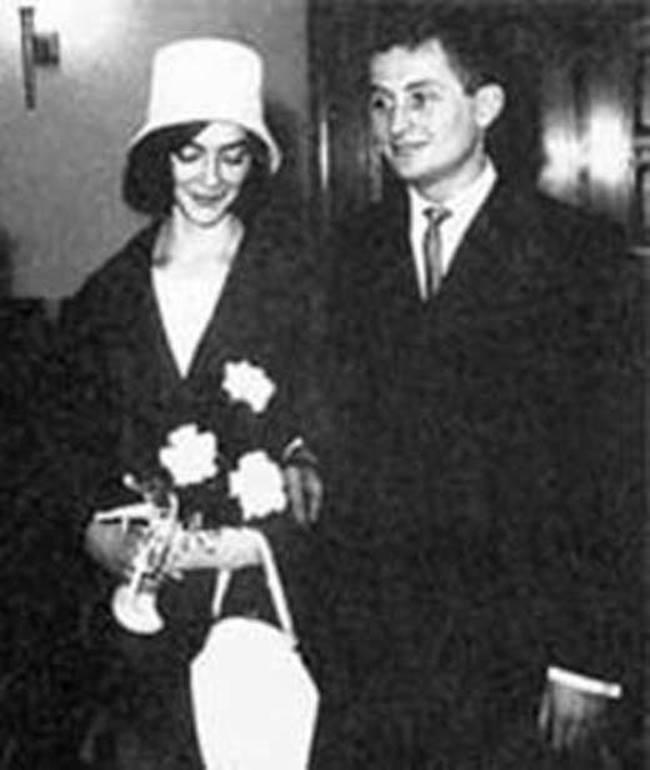 Jan Borovets and Barbara Brylska