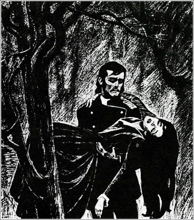 Jesse and Morgiana. Illustration by Savva Brodsky