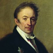 Nikolay Karamzin by Alexey Venezianov (1828, National Pushkin Museum)