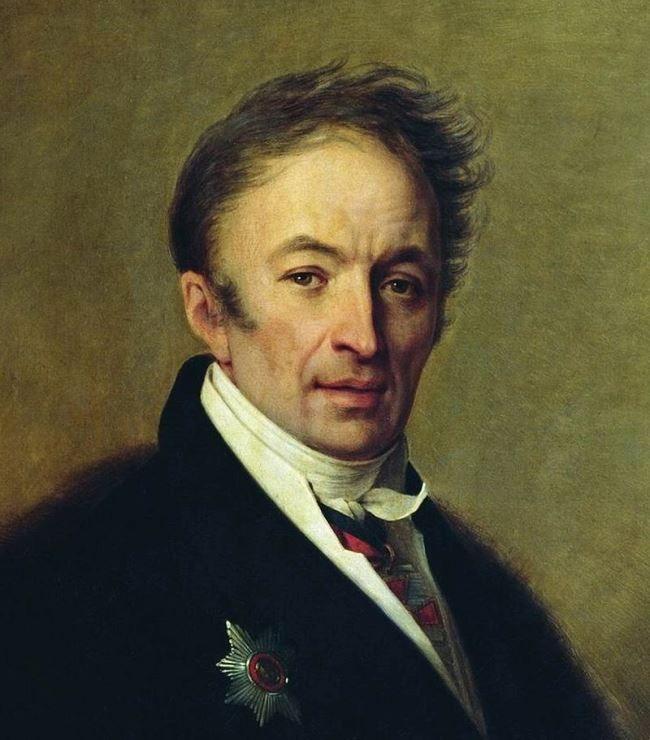 Nikolay Karamzin by Alexey Venezianov (1828, National Pushkin Museum)