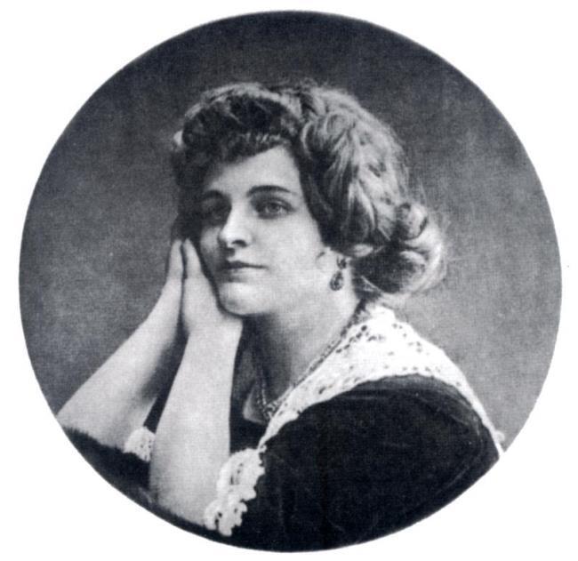 Presumably 1900. Nadezhda Lokhvitskaya